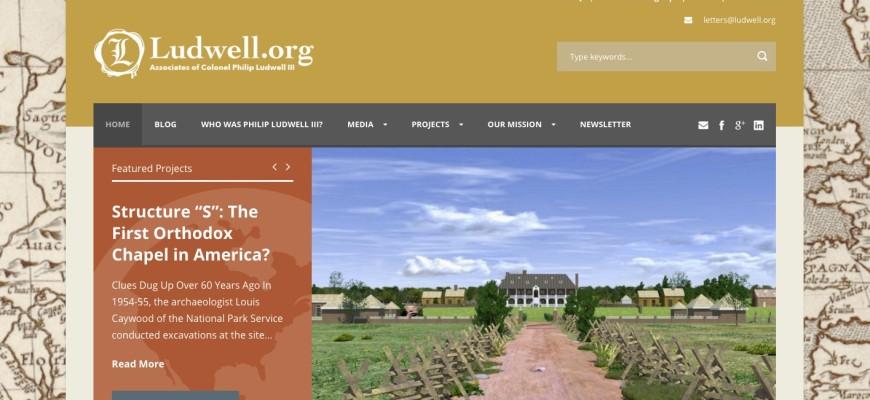 Ludwell website by Nick Kosar MarketKulture