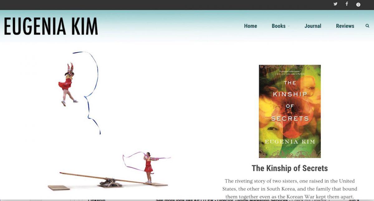 Nicholas Kosar web design for Eugenia Kim MarketKulture