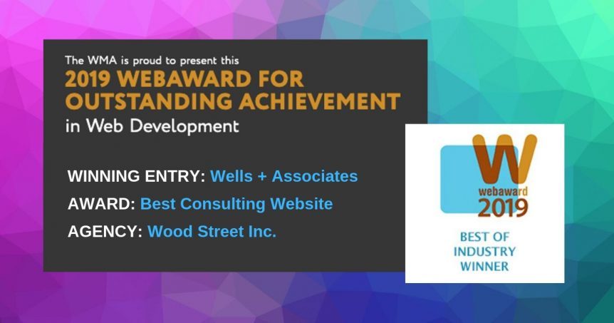 best consulting website award graphic 2019